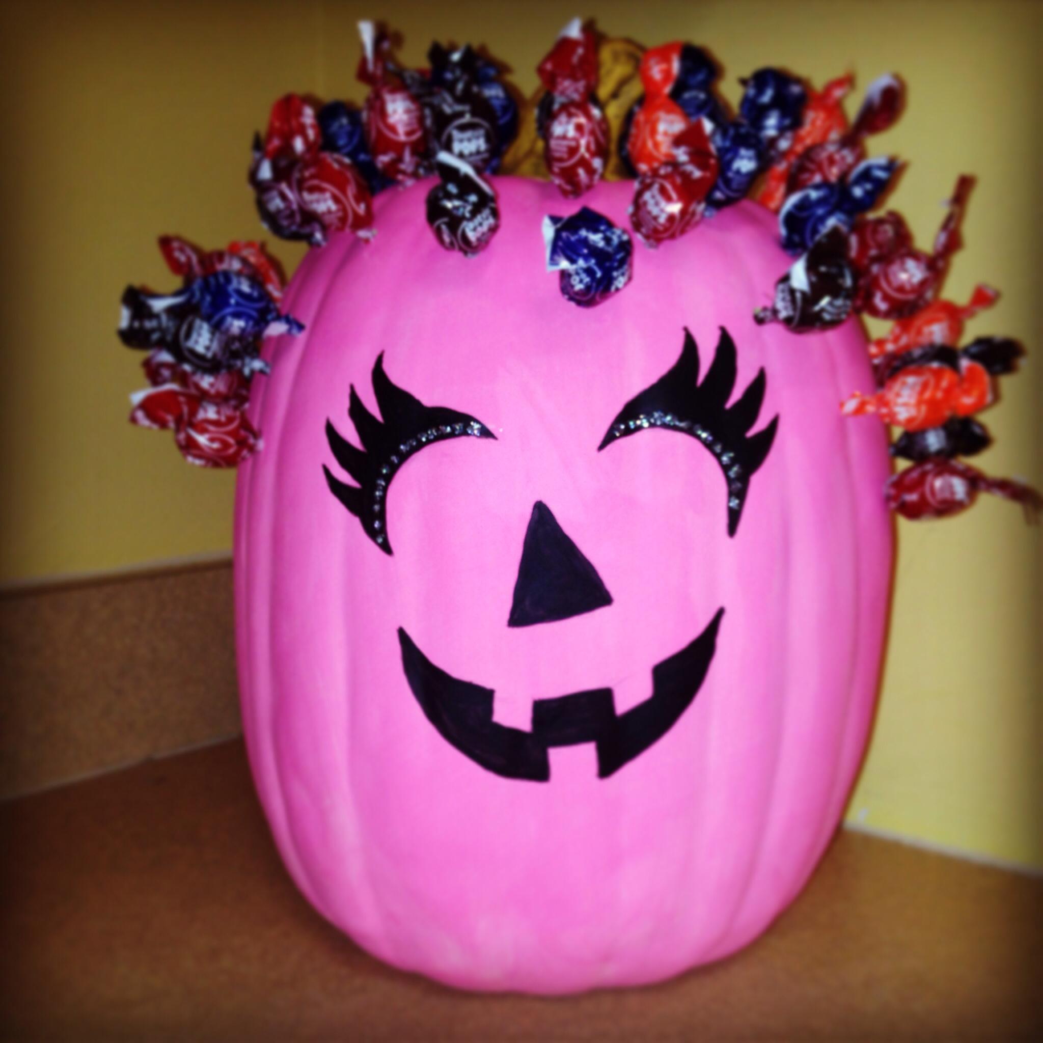 Pink Pumpkin Design Contest