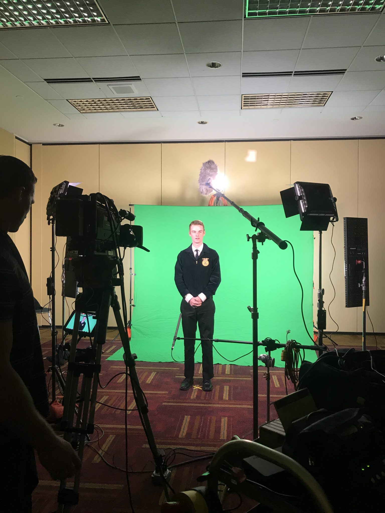 Sound School Students In National FFA Videos