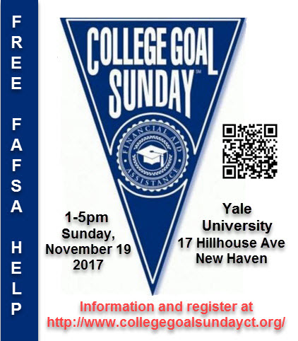 New Haven College Goal Sunday