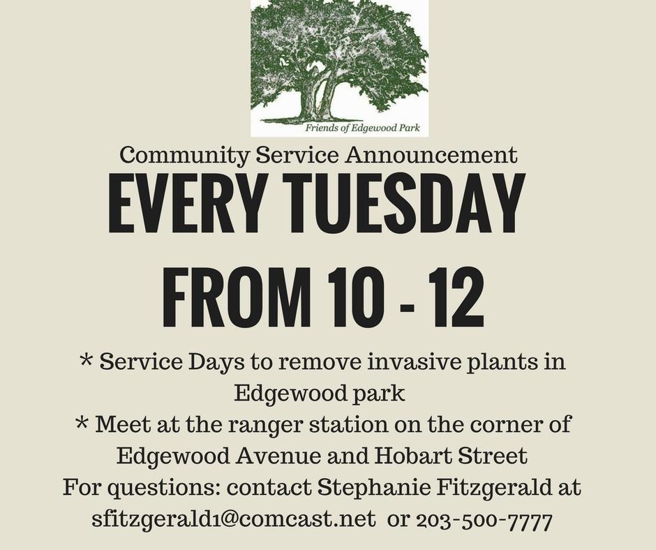 Edgewood Park Community Service