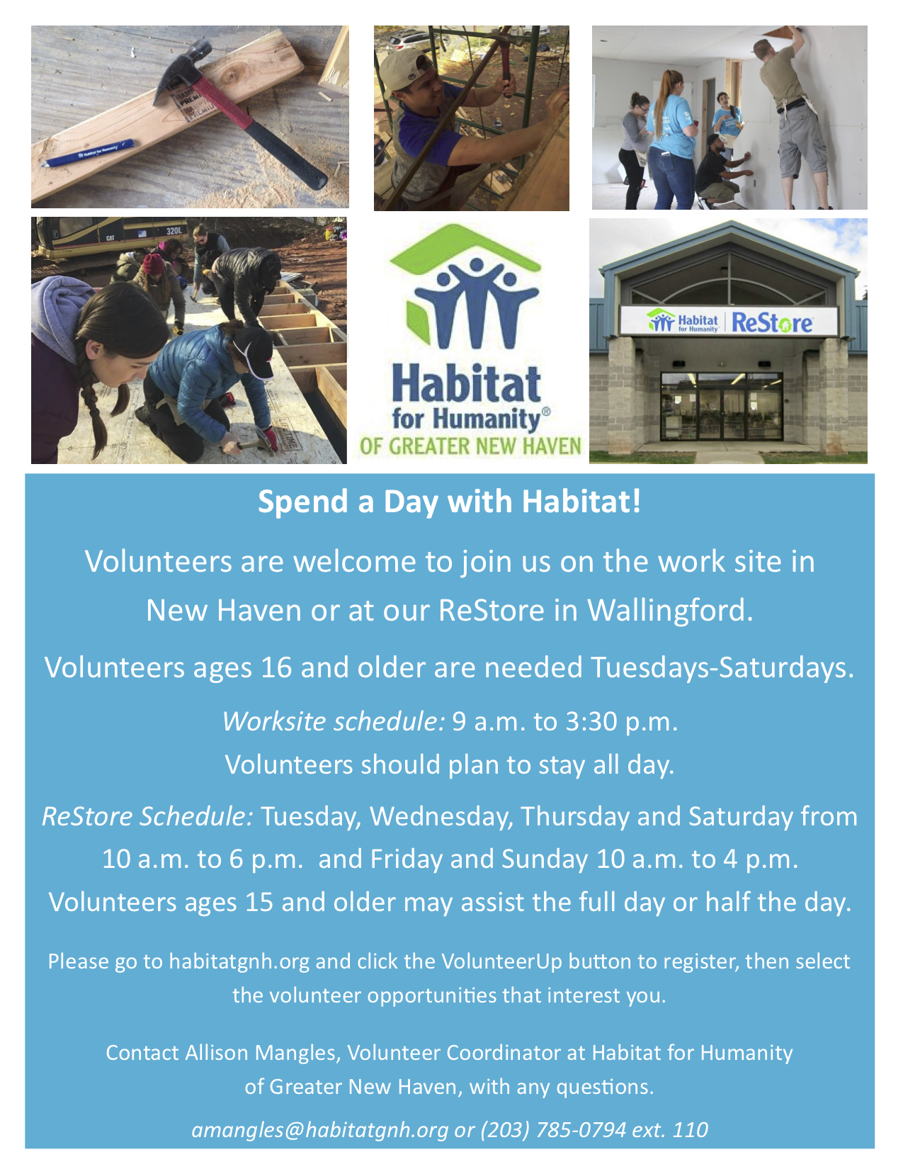 Habitat for Humanity Volunteer Service