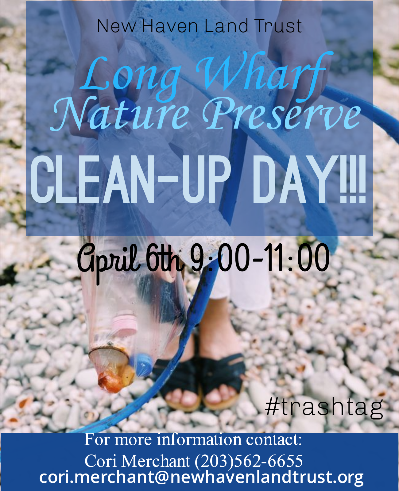 Long Wharf Nature Preserve Clean-Up Day