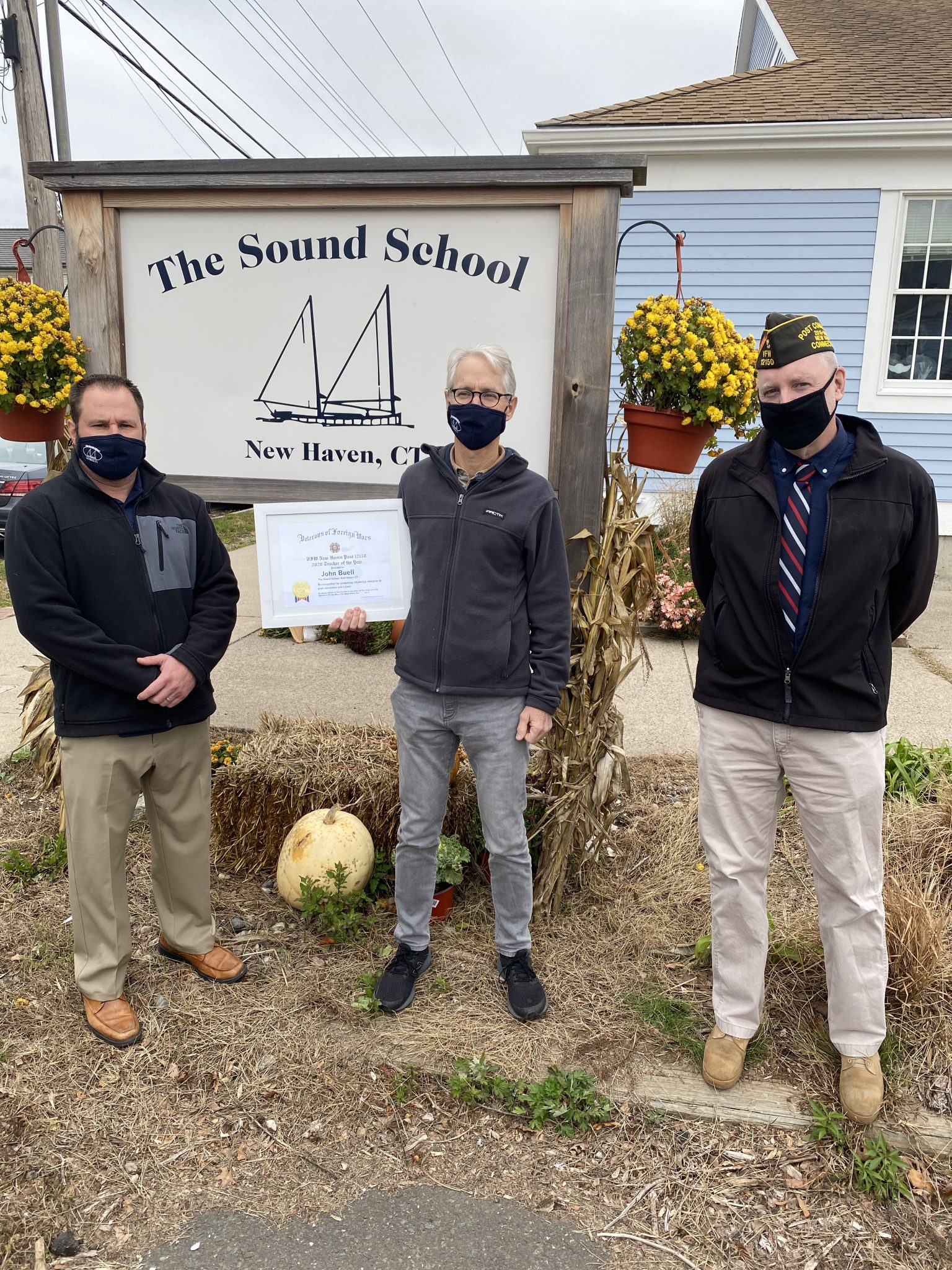 Sound School Teacher Selected VFW Connecticut Teacher of the Year